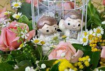 Flower&Little Doll / @Elenakikaku(さくらんぼ工房)の小さな人形たち