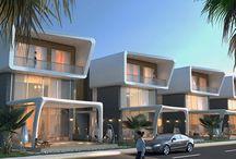 Mavi Villaları / Mavi Villaların dış cephe tasarımı firmamız tarafından tasarlanmıştır.