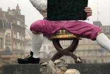 Vandenberghe & Quentin de la tour ( pastelliste du roi) / Un shooting photo avec Quentin de la tour