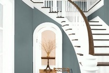 paint decor / There's nothing better than color throughout a home. Home Design Paint Ideas / by Jacquelyn @BathBeautiful