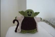 Star Wars Knits / Little knitty Star Wars :)