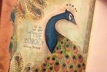Art Journal Ideas / Pretty self explanatory - inspiring ideas for my own art journal. / by Rosemary Hazard