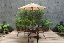 Outdoor seating / by Andrea Gagnon