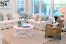 Great Rooms / Beautiful gathering spaces in Irvine Pacific residences.