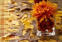 Thanksgiving Decorations / Great ways to decorate your home and table for the big day.