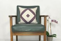 Our Geometric Pillows / Subtle accent or bold statement, today's geometry trend can add a punch to just about any room.