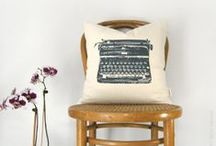 Our Urban Inspired Pillows / Urban pillows that can suit many style: industrial, mid century, retro or modern decor!
