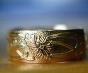 handmade wedding bands / Handcrafted Personalised Men's Wedding Bands & Women's Wedding Rings in Sterling Silver, Solid 14K Gold & 14K Gold Filled.