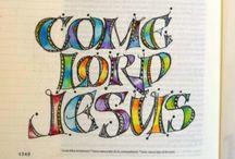 Bible Journaling ~ Illustrated Scripture