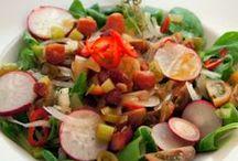 Salat Rezepte / salad recipes / Tomaten, Kraut, Romana oder Feldsalat, die leckersten Rezepte und Ideen zum Salat!   Salad in all kinds and flavors!