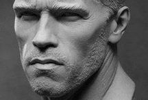 Realistic 3D portraits