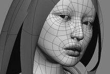 Head 3D modeling