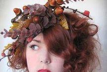 I wear a fascinator now. Fascinators are cool. / by Jen Talley / Mimi & Boo