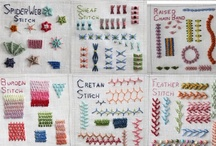 Needlework / by Jen Talley / Mimi & Boo