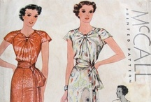 Vintage Sewing Patterns 30s & 40s