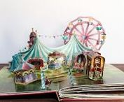 my circus pop-up book