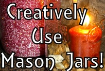 DIY- Mason Jar / Mason Jar crafts / by Amber Skye Puckett
