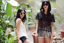 Sounds of Summer: The Veronicas / The Veronicas give feminine beading from Glassons a grunge edge