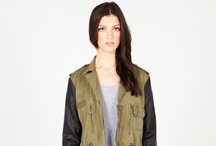 Army Green Anoraks