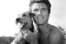 Clint Eastwood, my heart throb / by Carol Van Curen-Wright
