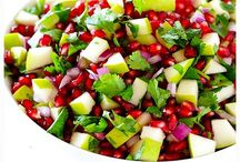 Nourish Winter / Warming foods for Winter in a rainbow of colours.