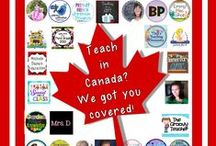 Canadian Teaching Ideas and Resources / This is a collaborative board where Canadian teachers and those teaching about the Great White North can find both free ideas and wonderful resources created specifically with a Canadian audience in mind!