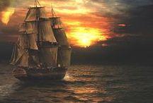 Kalózhajók, Hajók, Csónakok