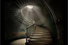 Csiga lépcsők