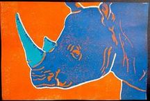 Printmaking / Project Ideas & Inspiration for Secondary Art Classes