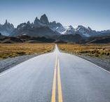 El Chalten   Fitz Roy   Cerro Torre   Patagonia   Argentina / El Chalten in Argentina - climbers' hell and heaven