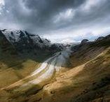 Grossglockner High Alpine Road   Alps   Austria / Grossglockner High Alpine Road area in Alps & Pasterze Glacier