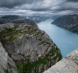 Preikestolen   Lysefjord   Norway / One of the most famous locations in Norway.