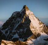 Zermatt   Matterhorn   Alps   Switzerland / The most famous mountain town in Switzerland.
