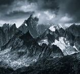 """Mordor   Monochromatic / Mordor inspired by J.R.R. Tolkien """"The Lord of the Rings"""""""