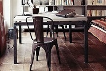 Tolix - cool industridesign/ Tolix - an icon of industrial esthetics / by Broarne - decor for happy homes
