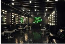 Hair Salon Interiors, Design, Etc. / by Helen Sari