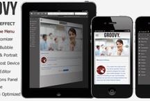 Mobile WordPress Template