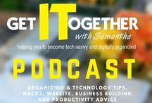 Get It Together! Podcast / All of the episodes from Get IT Together Podcast available on iTunes and Google Play Music.