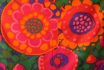 RETROFLOWERS / by Broarne - decor for happy homes