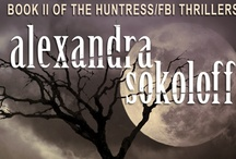 Blood Moon / Images of Blood Moon, Book 2 in the Huntress/FBI series / by Alexandra Sokoloff