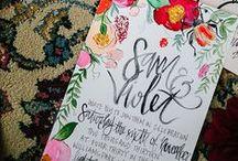 WEDDING: invites.