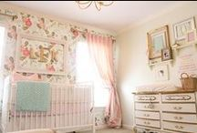 home - baby girl nursery / We're having a GIRL!!! / by Tiffany Wall