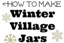 Winter Scene Villages