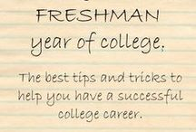 All Things College / scholarships, dorm-room, study tips!