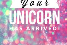 Unicorns are Magical / Unicorns are amazing! Why? They are horses with a deformity but everyone considers them to be majestic and beautiful. Always be a Unicorn in a harem of horses.