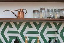Sensational Splashbacks / Let your cooking space sizzle with colours, patterns and materials in unexpected ways.
