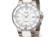 Boccia Unisex Watches. / Boccia Titanium unisex watch with a white dial, rose gold markers, polished titanium case and white ceramic & rose gold plated titanium bracelet, date feature. Get it here >> https://www.superelitetrends.com/collections/boccia-titanium-men-39-s-watches/unisex