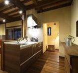 キッチン・ダイニング / 自然素材、無垢材、薪ストーブを取り扱う富山県砺波市の工務店・株式会社ミズカミの施工事例集です。