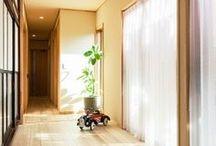自然素材の家 / 自然素材、無垢材、薪ストーブを取り扱う富山県砺波市の工務店・株式会社ミズカミの施工事例集です。