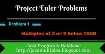 Project Euler Problems / The solution of all project euler problems in java.
